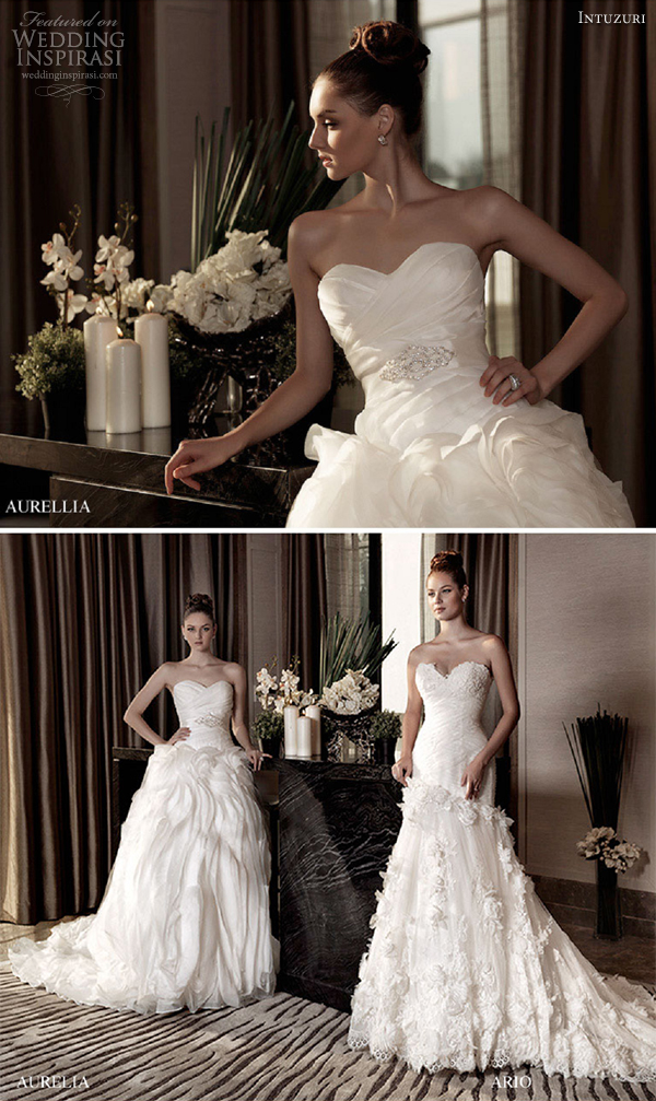 intuzuri wedding dresses 2013 aurellia ario bridal gowns