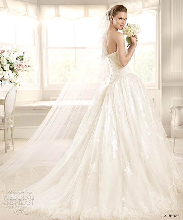 La sposa wedding dresses 2013 fashion costura bridal for La sposa wedding dresses
