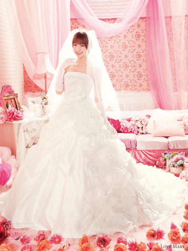 Love Mary Wedding Dresses Wedding Inspirasi