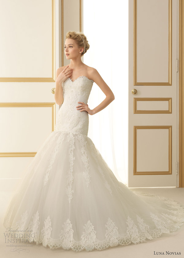 Luna Novias 2013 Wedding Dresses Wedding Inspirasi Page 2