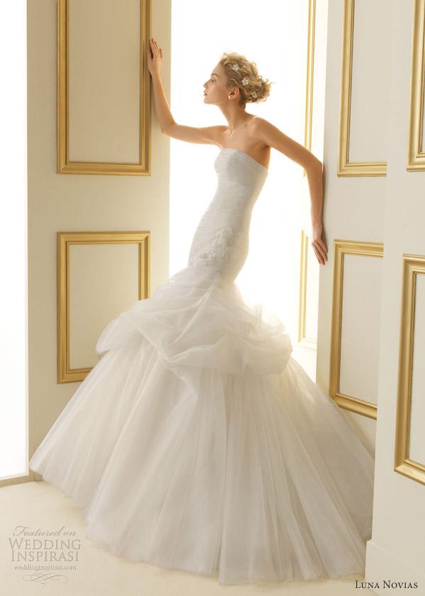 Wedding Dresses  Luna : Luna novias wedding dresses inspirasi page