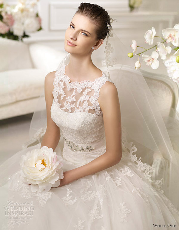 White Wedding Dresses For  : White one wedding dresses inspirasi