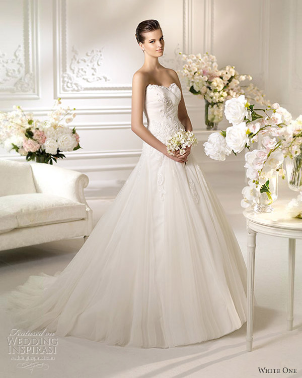 Wedding Gown 2013: White One Wedding Dresses 2013