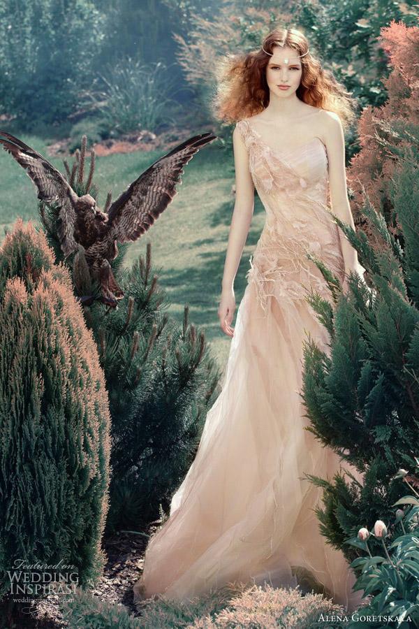 alena goretskaya wedding dresses 2013 vafa one shoulder gown