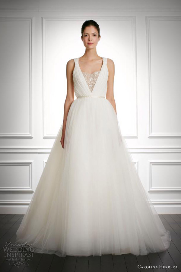 Carolina Herrera Bridal Fall 2013 Collection | Wedding Inspirasi