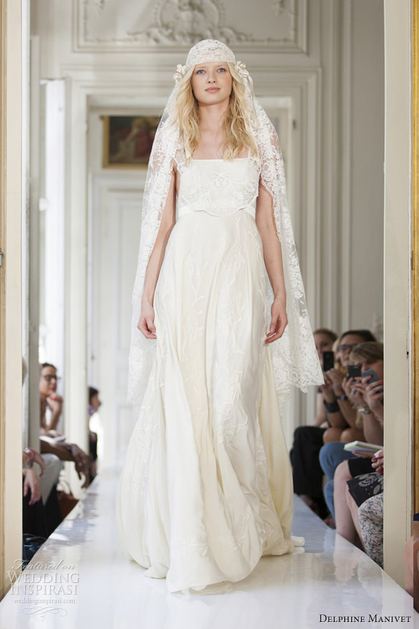 Delphine Manivet Bridal Spring 2017 Crespin Wedding Dress