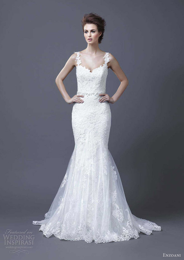 enzoani bridal 2013 hanako wedding dress straps