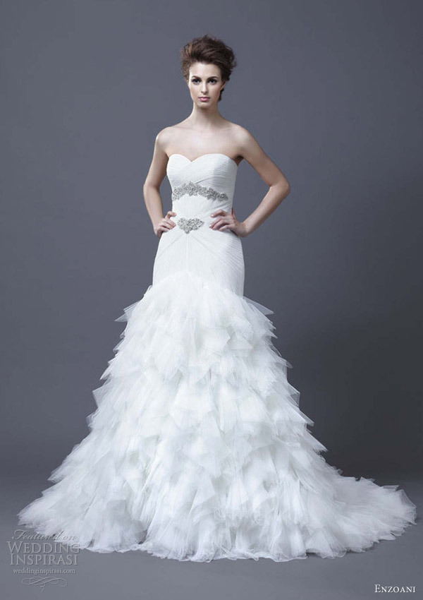 enzoani wedding dresses 2013 hadiya sweetheart crystals