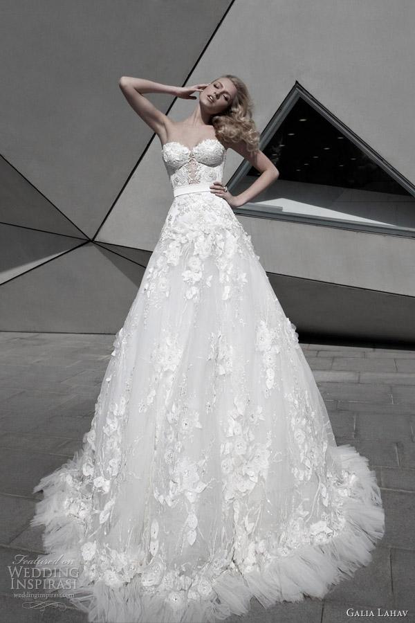 galia lahav 2012 sexy wedding dresses