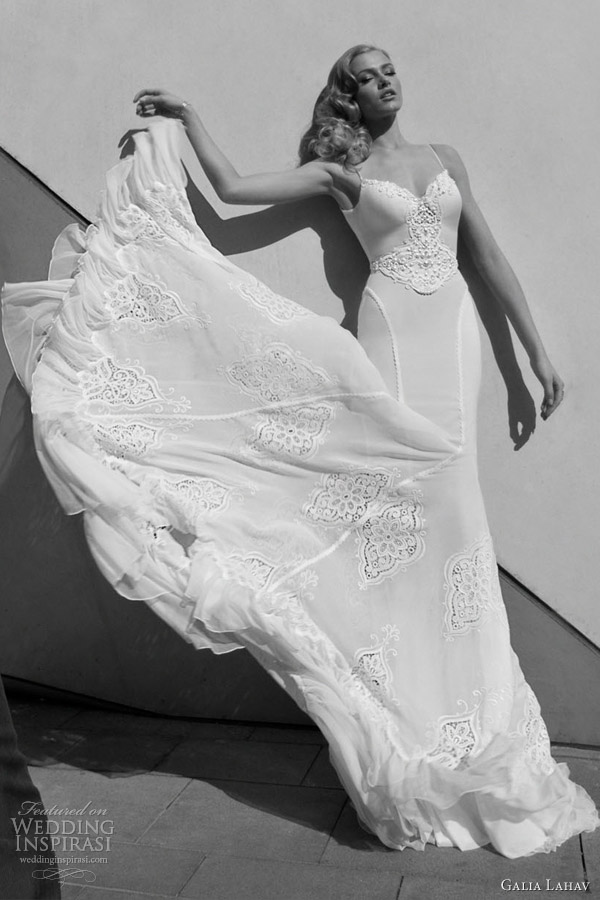 galia lahav bridal 2012 wedding dresses straps