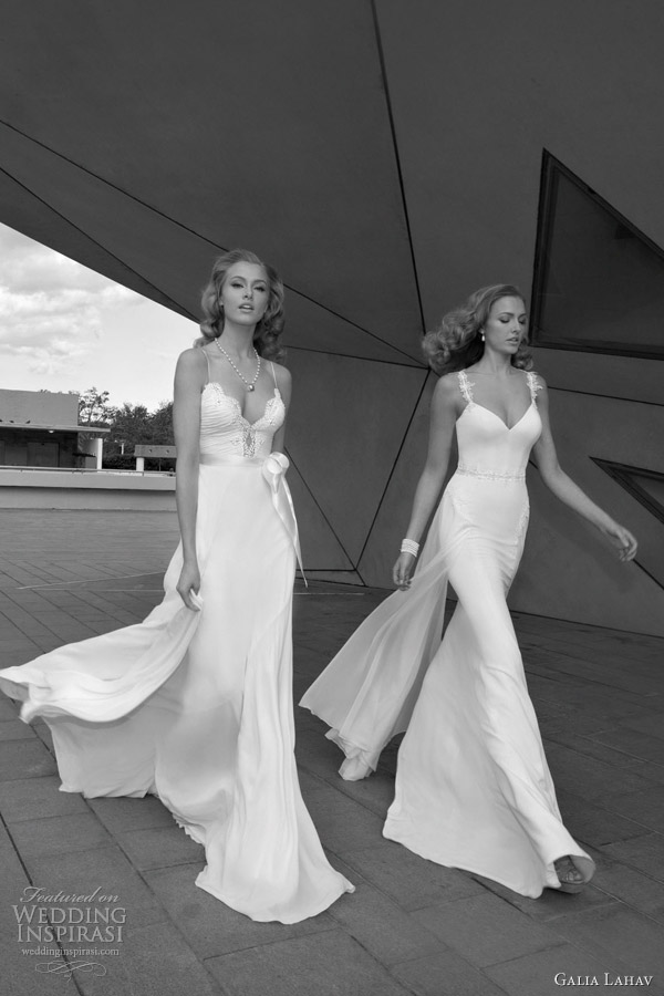 galia lahav wedding dresses with straps 2012