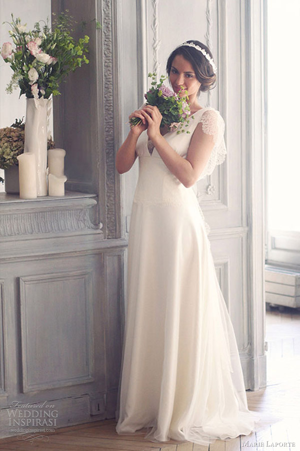 marie laporte 2013 romantic wedding dresses faustine