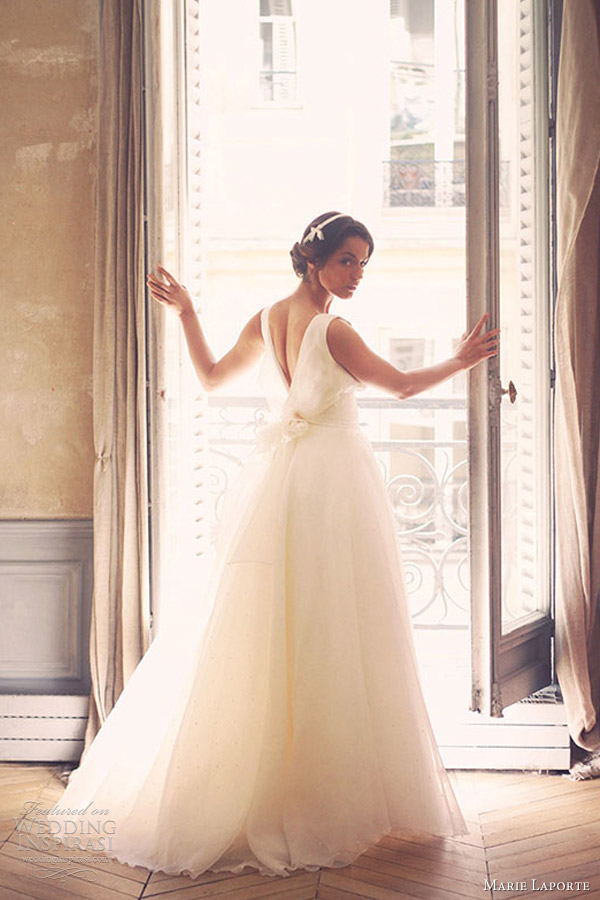 marie laporte wedding dresses 2013 adeline sleeveless gown