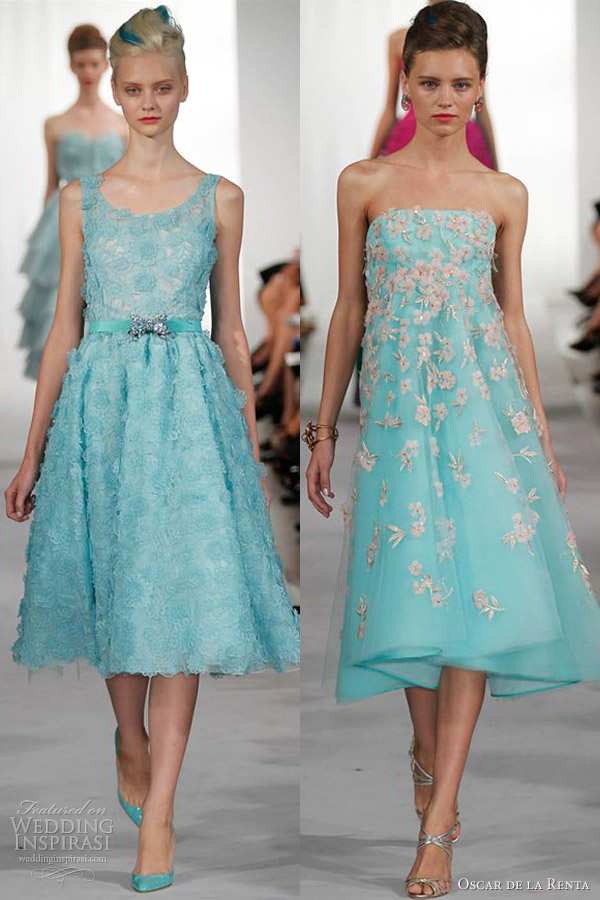 Oscar De La Renta Short Dresses | Wedding Gallery
