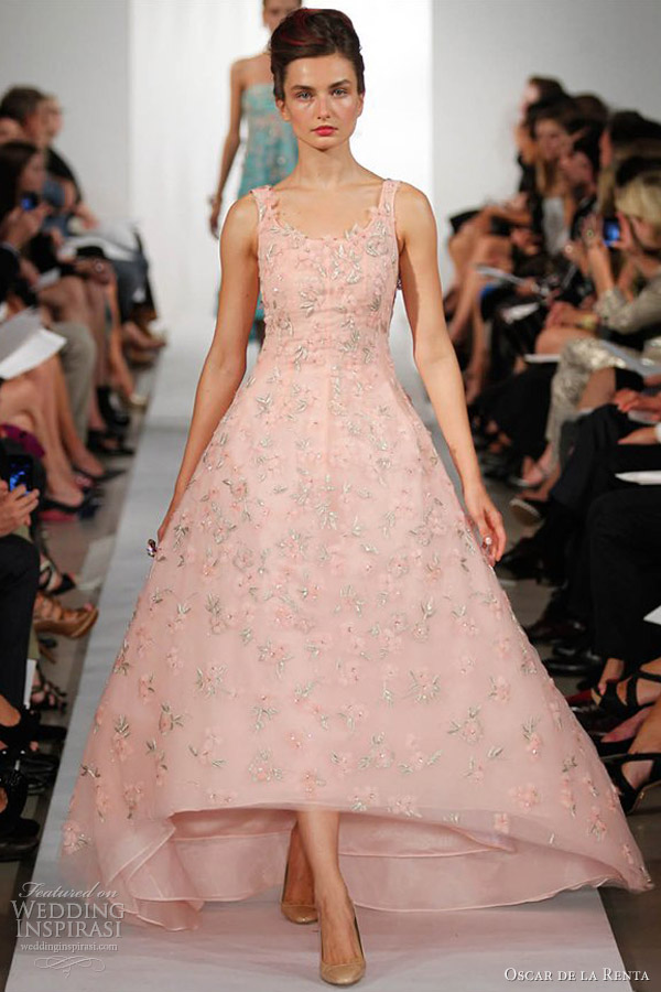 Oscar de la renta spring summer 2013 ready to wear for Where to buy oscar de la renta wedding dress