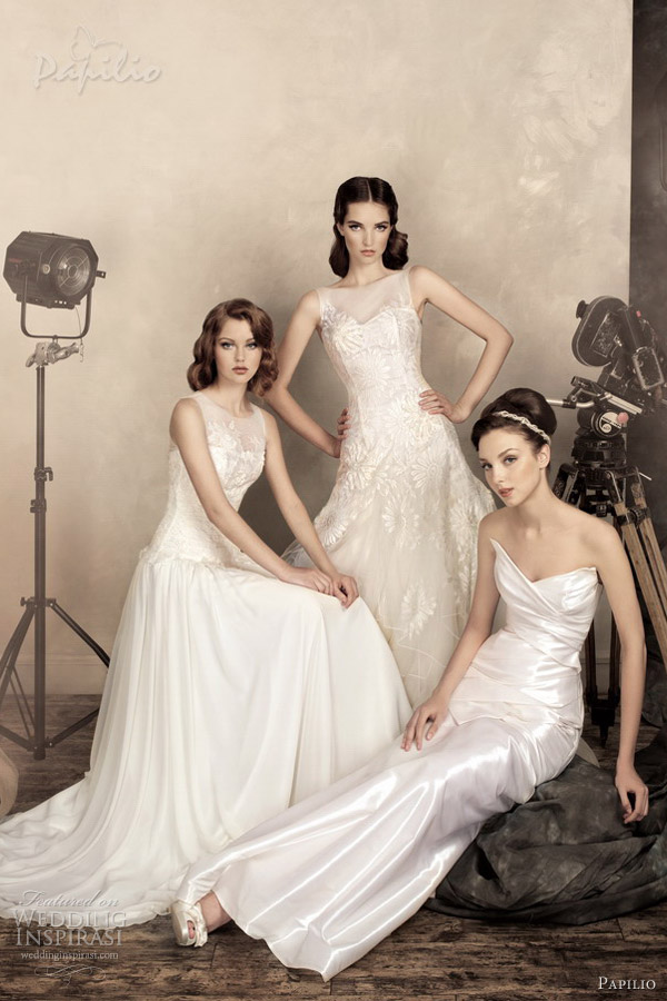 papilio bridal 2013 jane greta konsuelo wedding dresses
