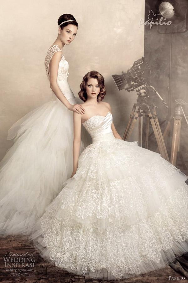 papilio wedding dresses 2013 isabelle ingrid