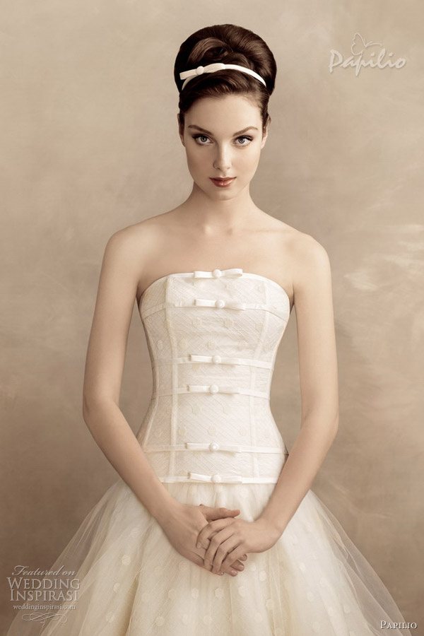 papilio wedding dresses 2013 shirlie strapless ball gown
