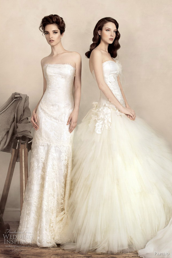 papilio wedding dresses 2013 sophie gina ball gown