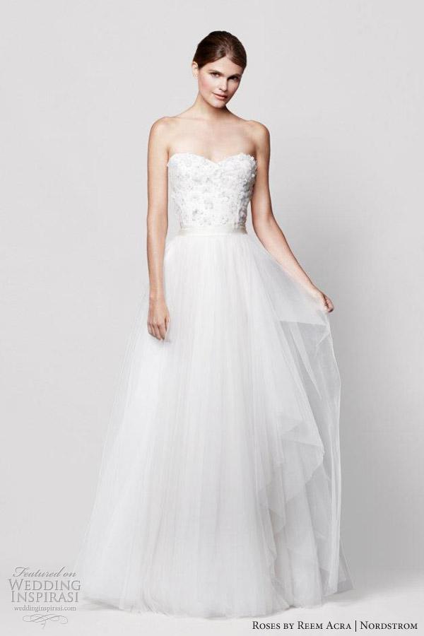 Nordstrom Wedding Dresses.Roses By Reem Acra For Nordstrom Wedding Dresses Wedding