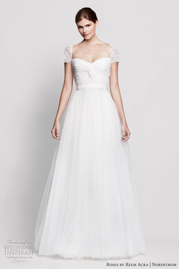 roses by reem acra nordstrom wedding dresses laurel