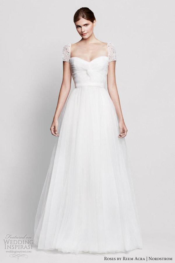 Roses By Reem Acra For Nordstrom Wedding Dresses Inspirasi