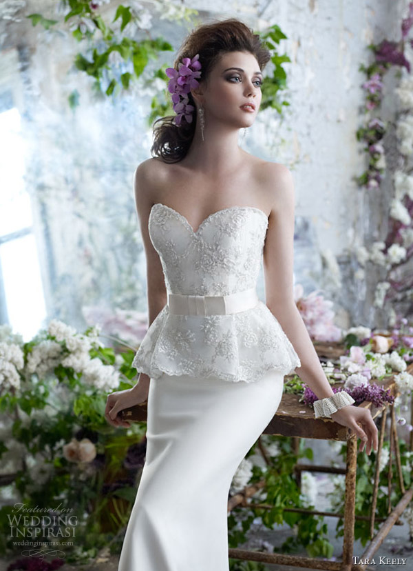 tara keely fall 2012 strapless wedding dress style 2255 jlm couture