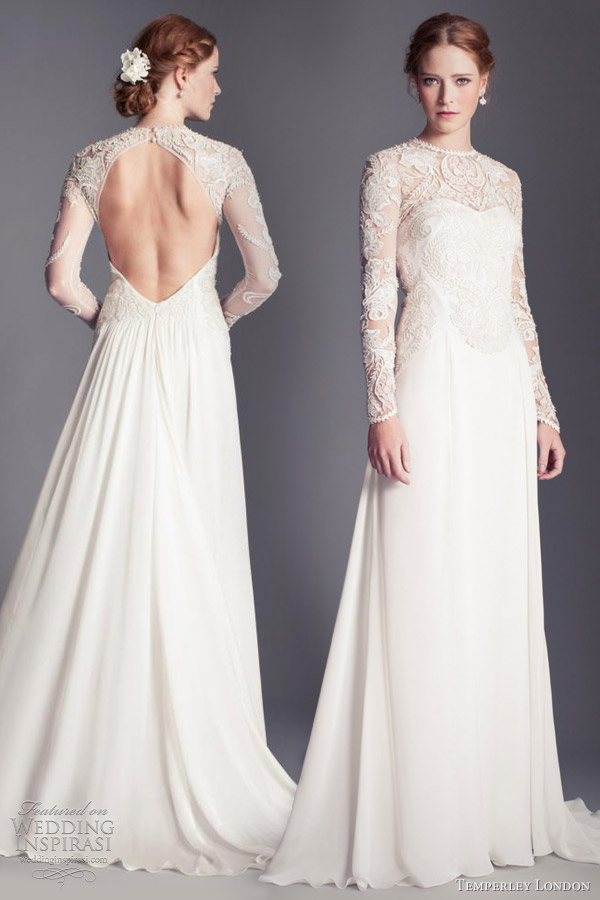 Temperley London Wedding Dresses 2013 Florence Bridal