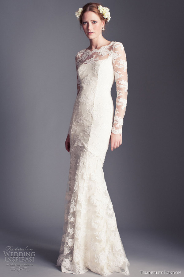 Temperley London Wedding Dresses 2013 Florence Bridal Collection