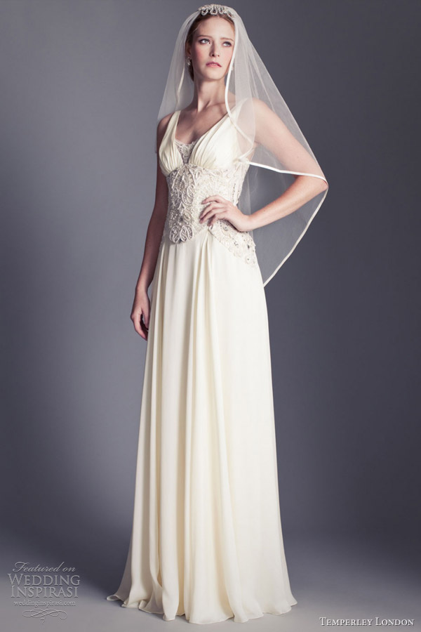 temperley london wedding dresses 2013 henrieta sleeveless gown
