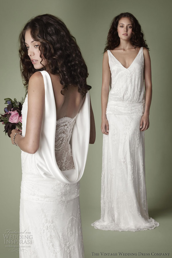 The vintage wedding dress company 2013 decades bridal for Vintage wedding dresses 1920s