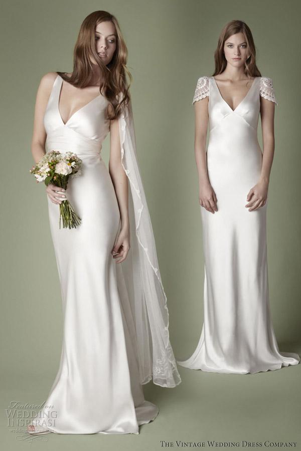 Slip Wedding Dress Style