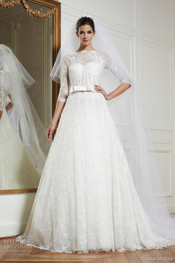 zuhair murad bridal 2013 mariage godiva wedding dress