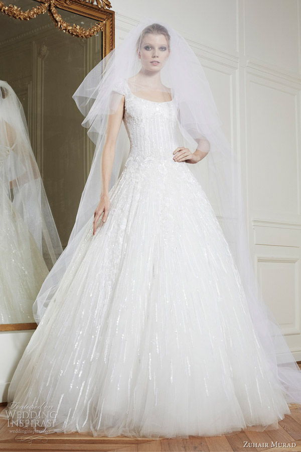 zuhair murad bridal fall 2013 queen wedding dress