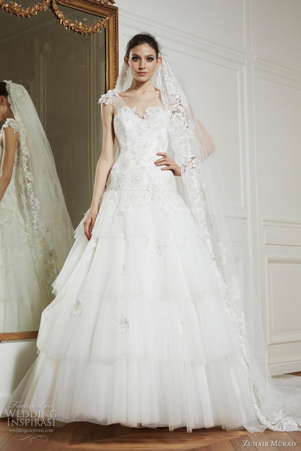 zuhair murad bridal fall 2013 valerie wedding dress