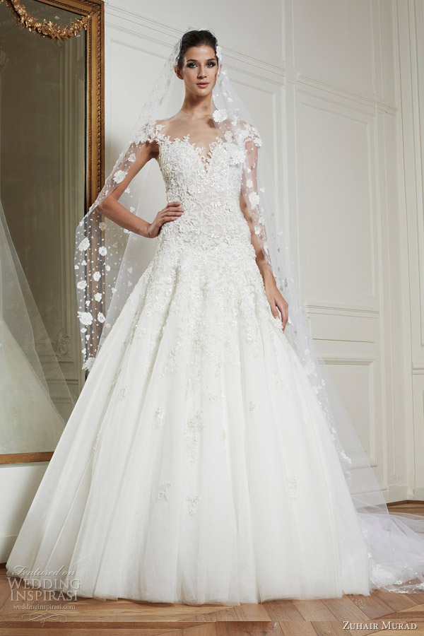 zuhair murad wedding dresses fall winter 2013 bridal amanda gown