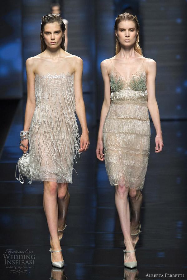 alberta ferretti spring 2013 rtw fringe dress