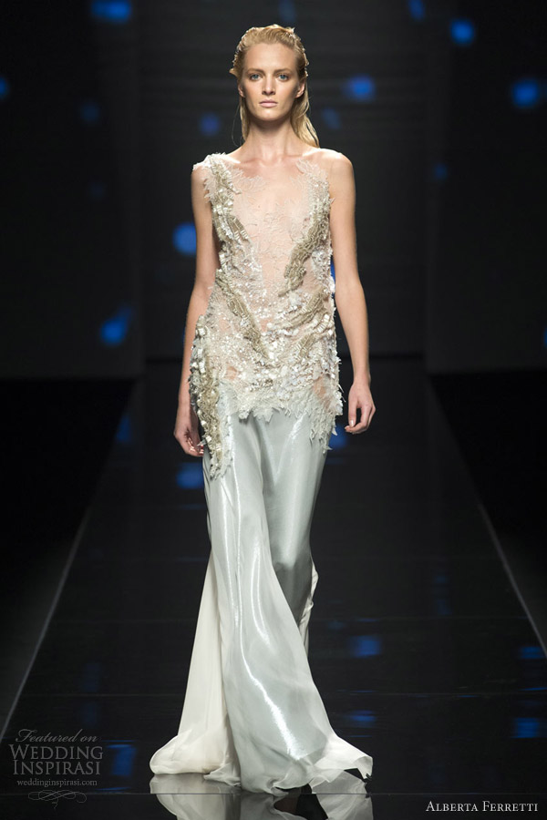 Alberta ferretti spring 2013 ready to wear wedding inspirasi for Ready to wear wedding dresses online