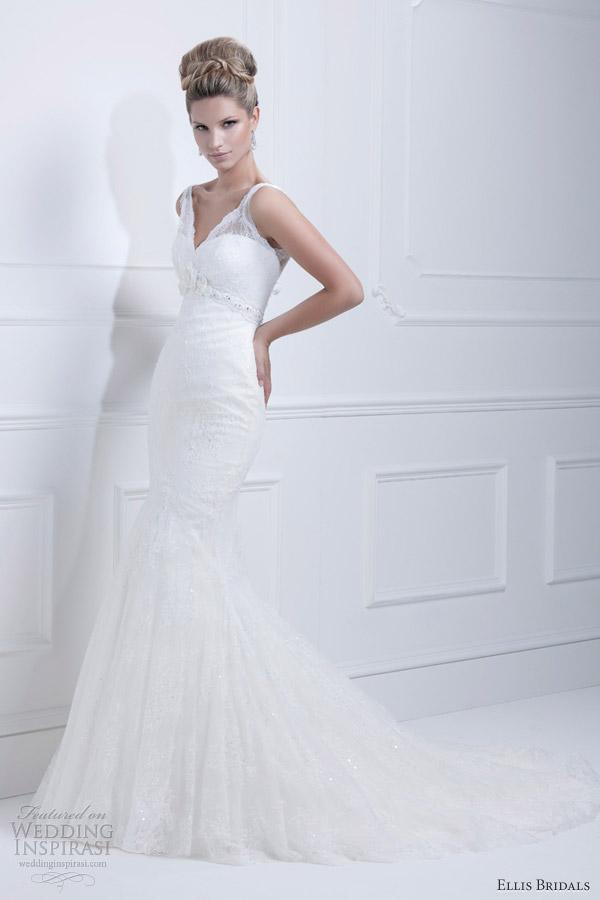 ellis bridals wedding dresses 2013 mermaid gown 11329