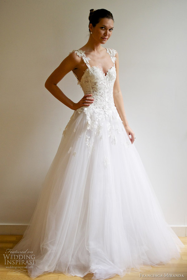 francesca miranda spring 2013 charlizette wedding dress