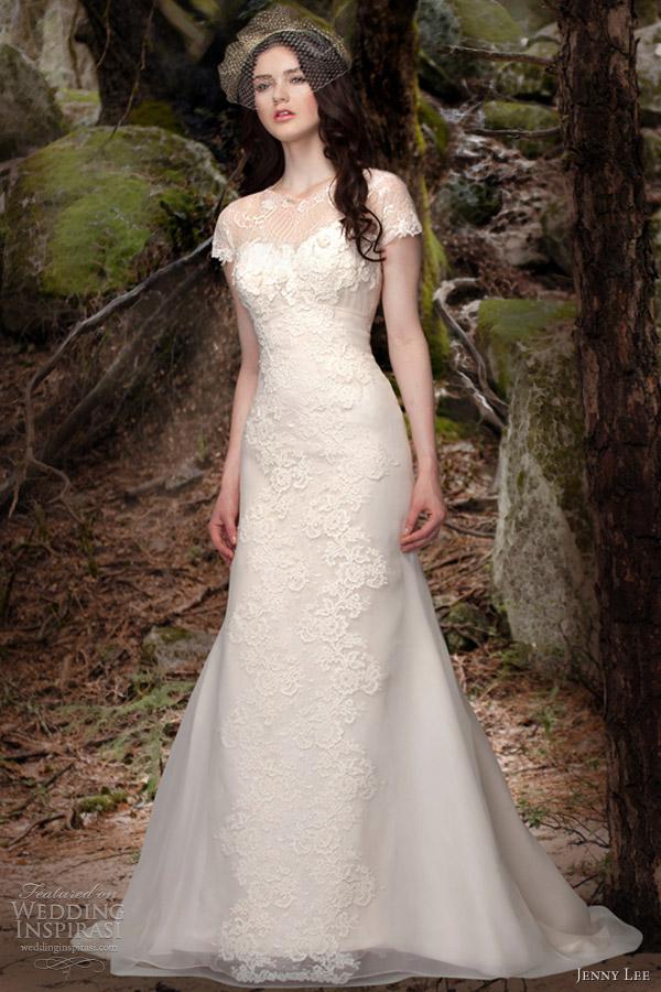 Jenny lee bridal spring 2013 wedding dresses wedding for Short spring wedding dresses