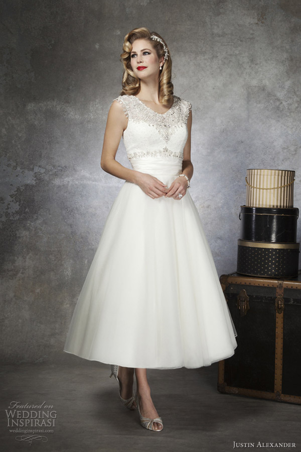 Wedding Dresses Tea Length Melbourne 13