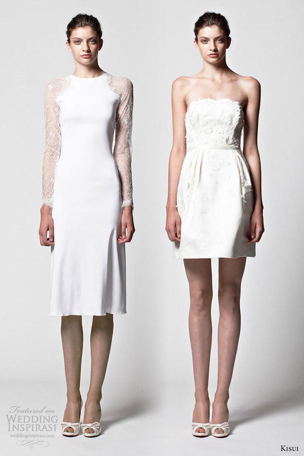 kisui brautmode 2013 bridal short wedding dresses ava tala