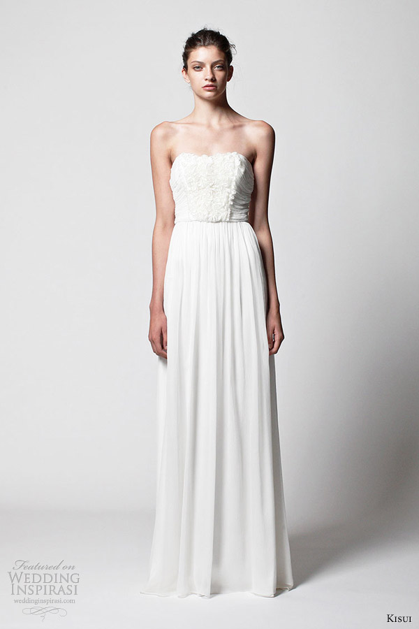 kisui bridal 2013 enid wedding dress