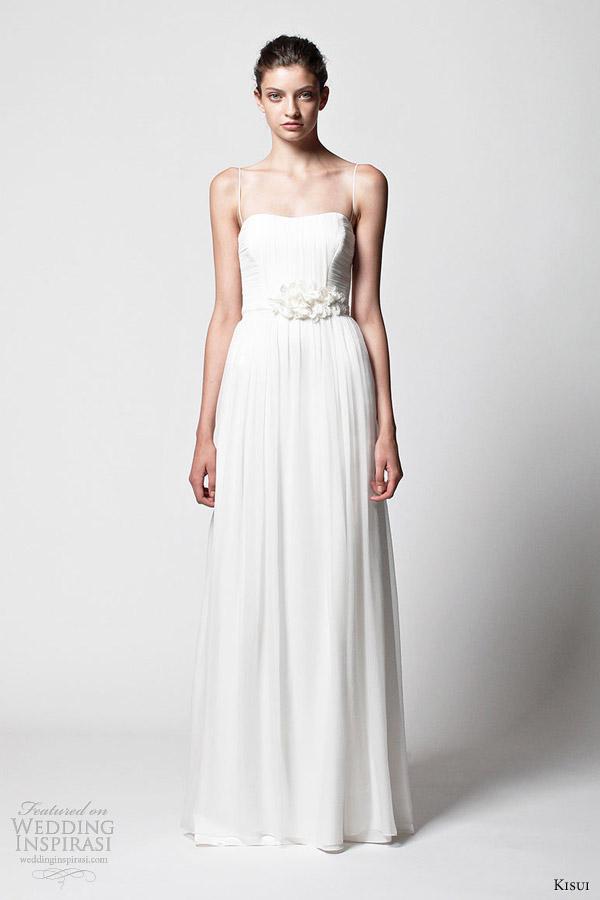 kisui wedding dresses 2013 bridal lavina gown straps