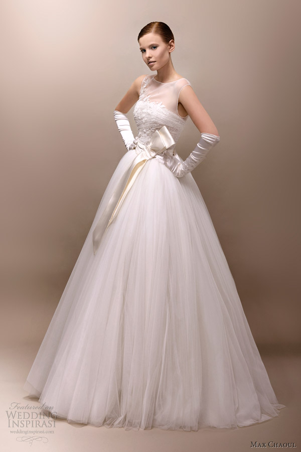 Max Chaoul Couture 2013 Wedding Dresses Wedding Inspirasi