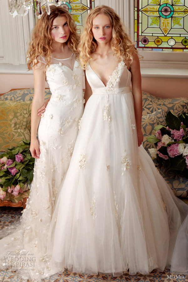 miamia 2013 spring wedding dresses mulbery briar gowns
