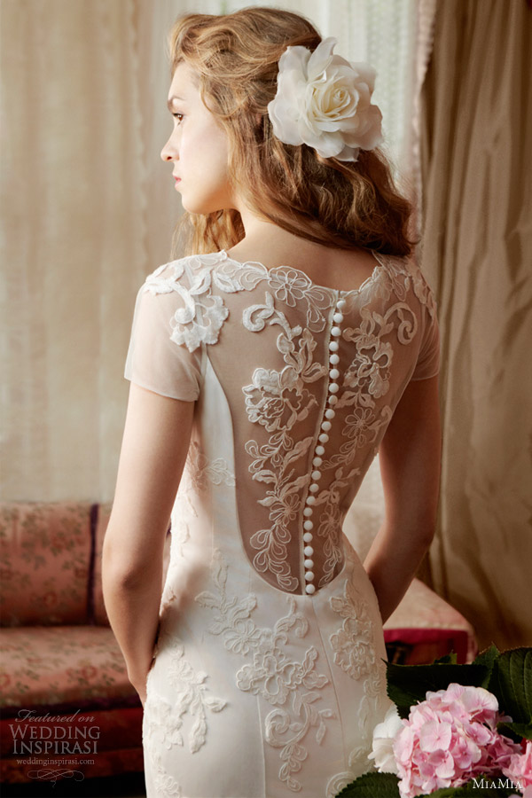 miamia bridal alan hannah spring 2013 clematis portrait back wedding dress