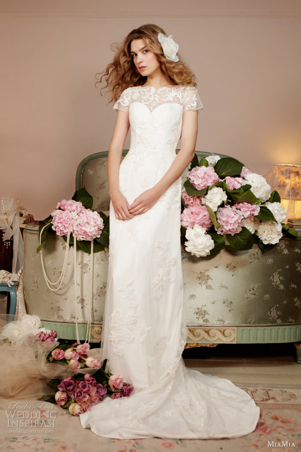 miamia bridal spring 2013 clematis wedding dress