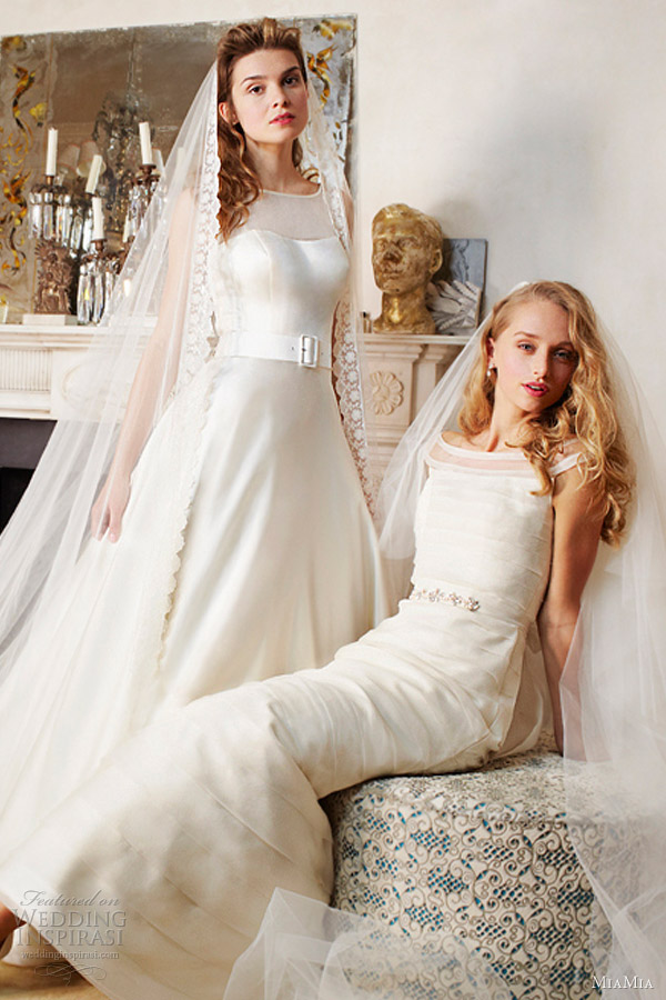 miamia bridal spring summer 2013 tamara and holly wedding dresses